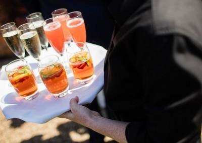 Chris Giles Photography- Summer drinks for your champagne reception