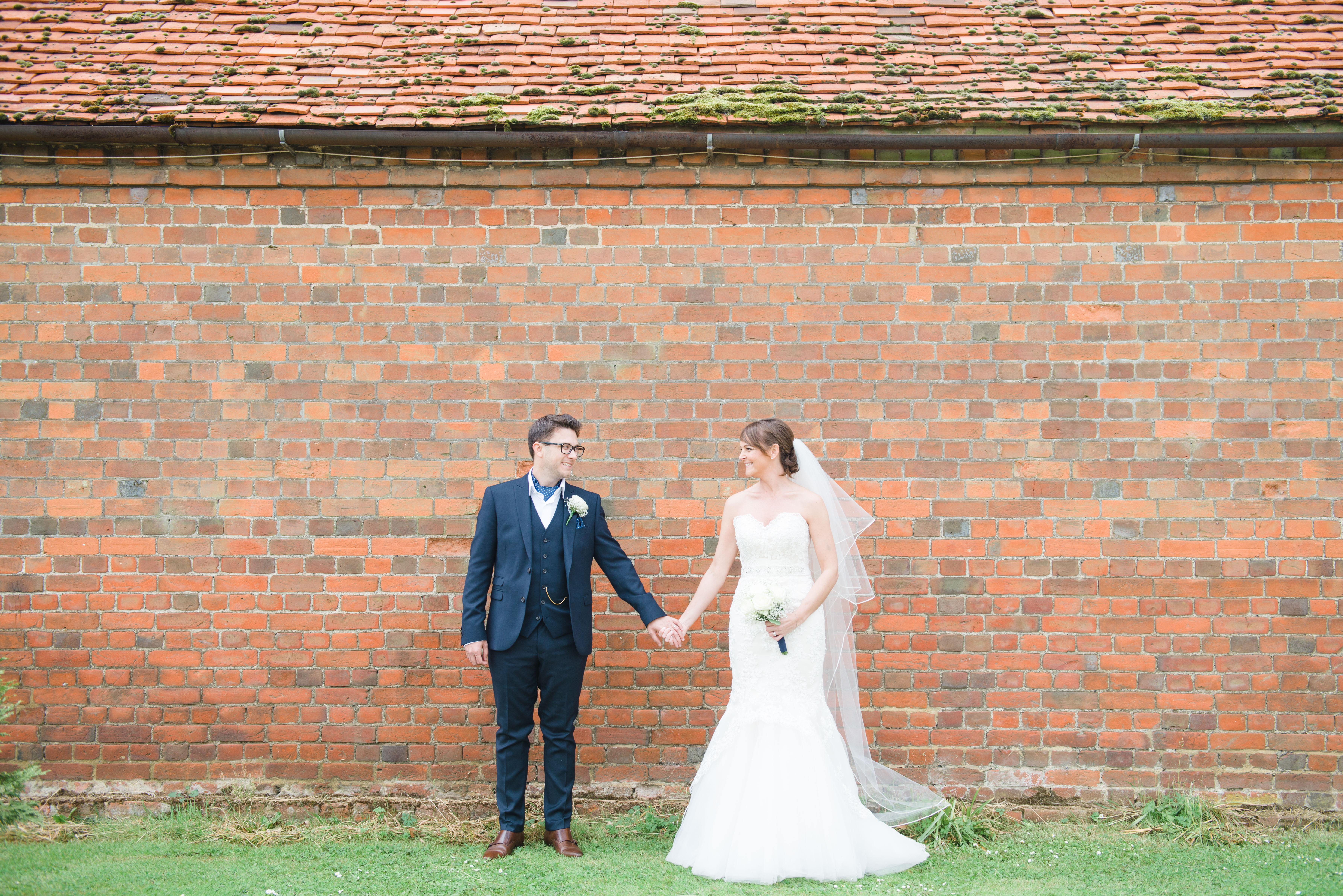 Hannah McClune Photography. A back drop of red brick for this shot.