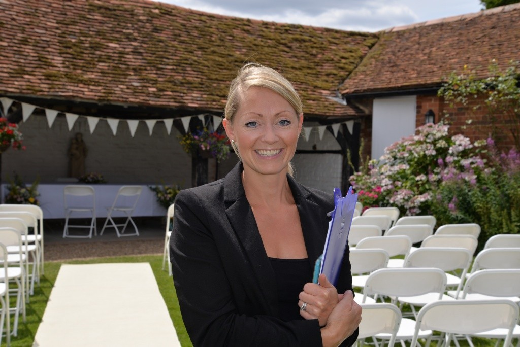 Alys- Events Manager who ensures your day runs smoothly.