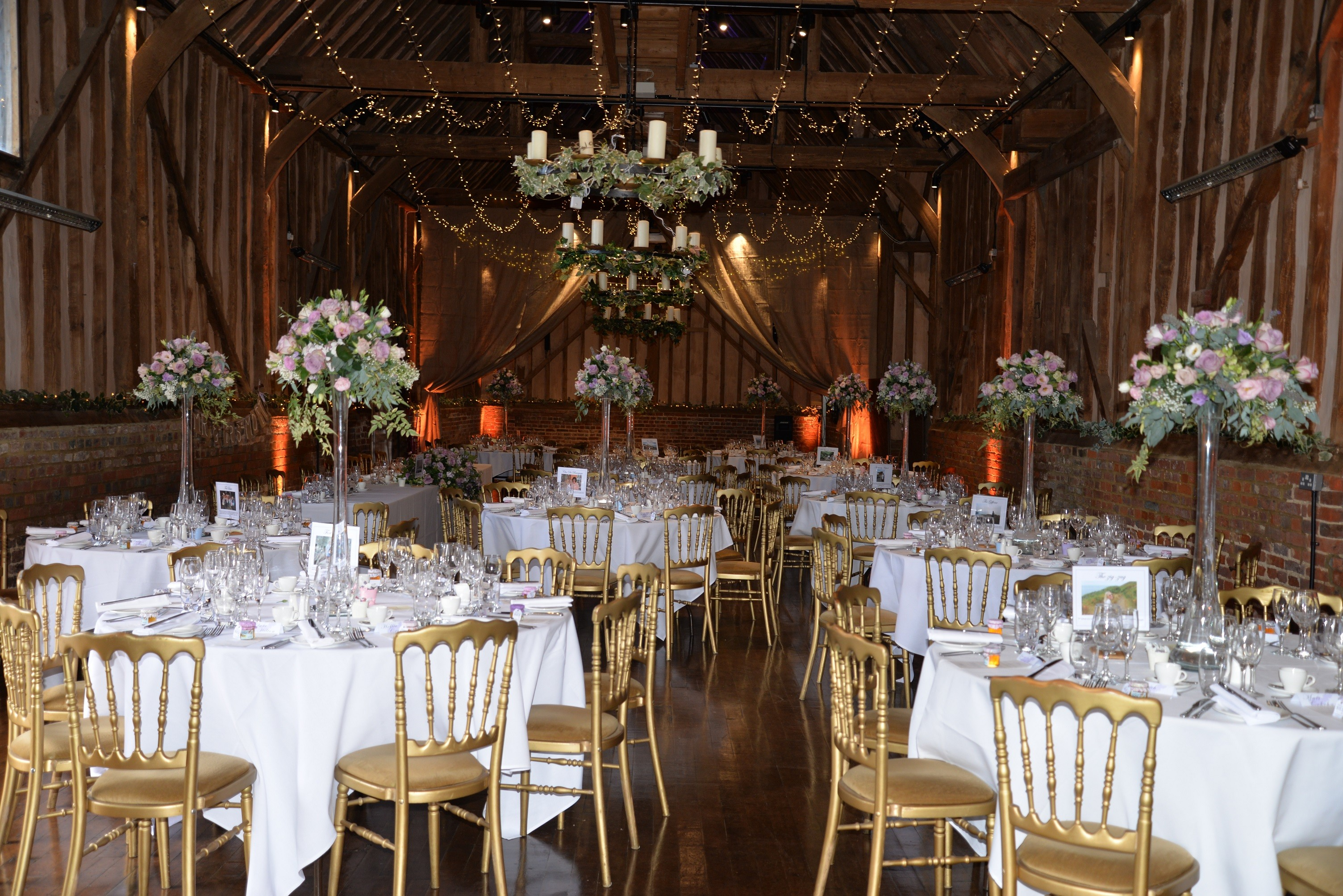 The Great Barn with Fairy Lights