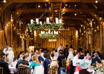 Chris Giles Photography. A wedding breakfast in full swing.