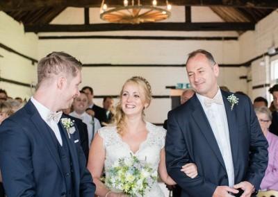Faye Cornhill Photography. Small barn wedding.