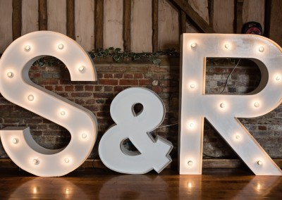 Faye Cornhill Photography. Creating the scene with lighting in the Great Barn