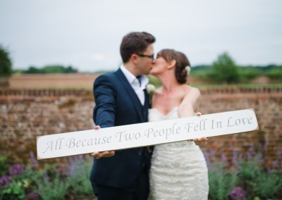 Hannah McClune Photography.  Create your thank-you cards on your wedding day!