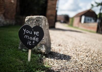 LG Fine Art Wedding Photography. DIY rustic signs.