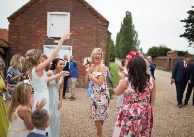 LG Fine Art Wedding Photography. Look who caught the bouquet.!