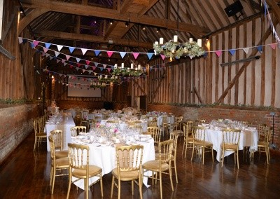 The Great Barn with Bunting