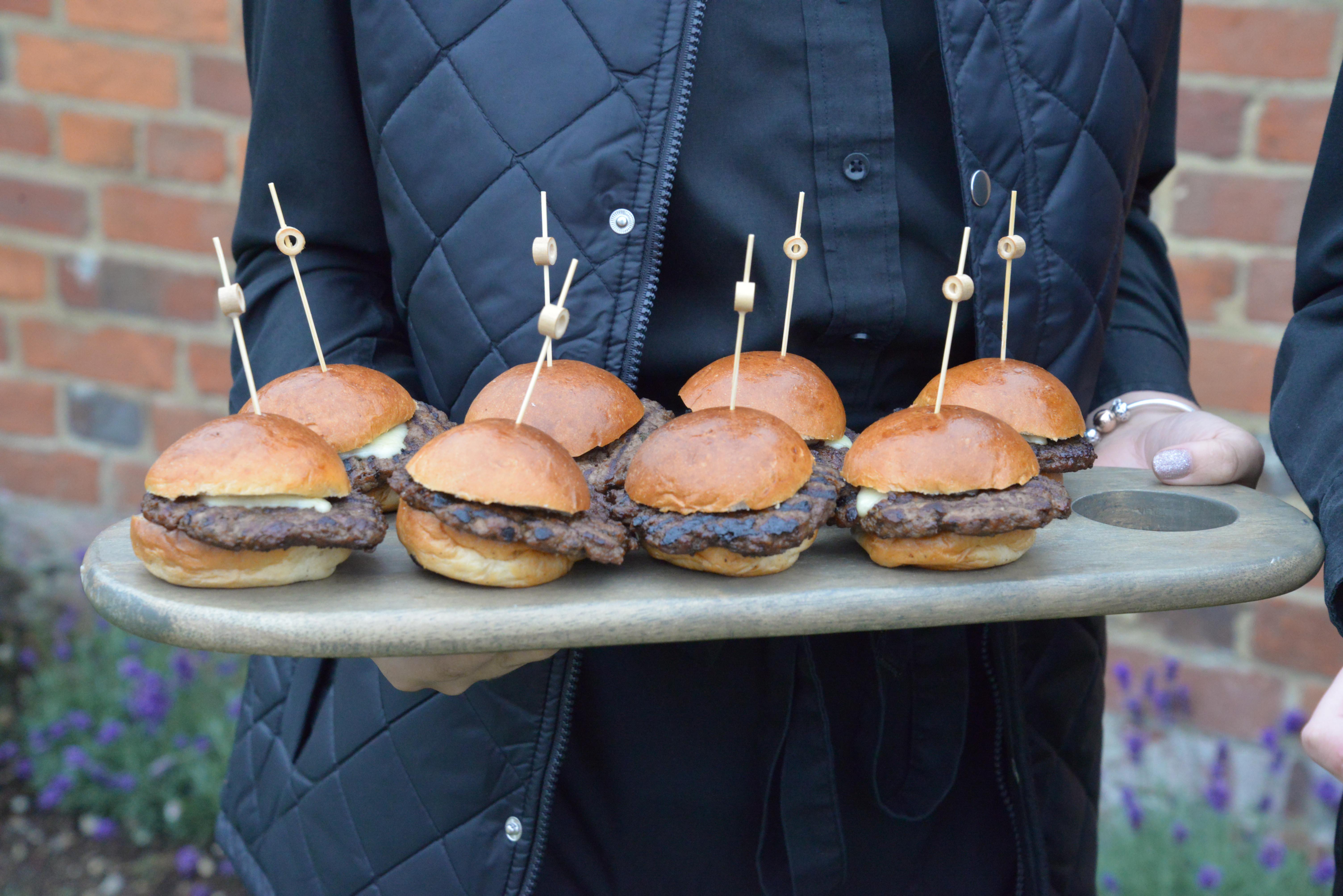Canapé Burgers